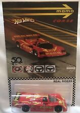 Custom Hot Wheels Porsche 962 With Real Riders Limited Edition