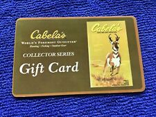 Cabela's Collector Series Gift Card - No Value