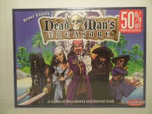 DEAD MAN'S TREASURE - 2006 Playroom Board Game by Reiner Knizia SEALED!!
