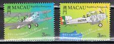 Joint Issue 1999 Macau 1014-1015 vliegtuigen - airplanes cat waarde € 3