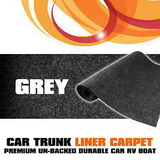 "200cmx150cm Grey Underlay Underfelt Mat Car Boat Floor Roof Trunk Carpet 60""x80"""