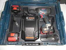 Bosch GDS 14,4V-Li Drehschlagschrauber professional, 3 neuw. Akkus