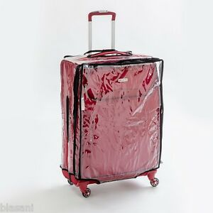 S Luggage Cover Suitcase Protector Fits 19-33 Inch TSA Approved Travel Suitcase Cover Washable Dustproof Anti-Scratch , Air Mail 19-22 inch