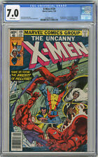 1980 X-Men 129 CGC 7.0 1st Kitty Pryde & Emma Frost White Pages