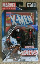 MARVEL UNIVERSE GREATEST BATTLES COMIC PACKS GAMBIT & MISTER SINISTER 2 PACK