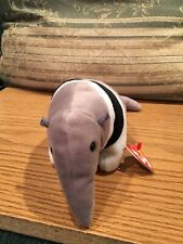 Ty Beanie Babies Ants Anteater 1977 Retired Mwmt