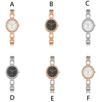 Women Luxury Watch Bracelet Stainless Steel Quartz Analog Jewelry Wrist Watch