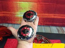 OEM Genuine Harley Touring Softail Dyna Sportster Gas Fuel Tank Emblems Set