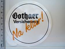 Aufkleber Sticker Gothaer Versicherungen - Na Klar (1706)