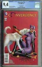 Convergence #7 CGC 9.4 Amanda Conner Variant