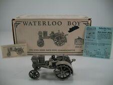 Spec Cast John Deere Pewter Waterloo Boy JDM-007 - Original Packaging and Papers