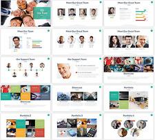 Multipurpose Microsoft PowerPoint Presentation Templates - Bronze Package