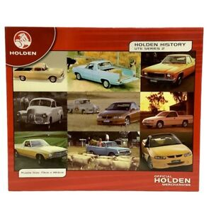 Holden History Ute Series 2 Jigsaw Puzzle Blue Opal 1000 Piece PIECES NEW SEALED