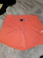 The North Face Ladies L Coral Flashdry Nylon Shorts -Worn Once -EUC