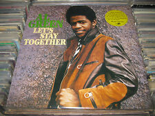 AL GREEN LP LET'S STAY TOGETHER HYPE STICKER 180 GRAM R&B SOUL FUNK SEALED ITALY