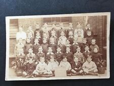 Vintage RPPC: Early 20c Boys School Class #A104 Burdett Coutts  Westminster