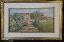 Dipinto olio su tavola - Casolari Salviano - Boldrini - 1977