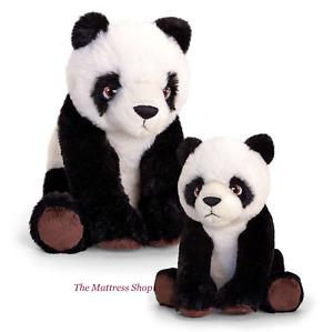 ~❤️~PANDA small 18cm and medium 25cms soft Toy Stuffed by Korimco Keeleco~❤️~