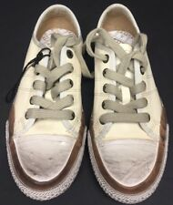 Frye- Distressed Low Lace Youth Shoe Size 1 NEW