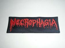 NECROPHAGIA EMBROIDERED PATCH