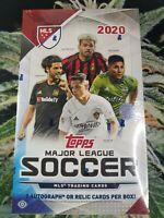 2 Random Teams/Spot - 2020 Topps Major League Soccer 3 Hit Hobby Box Smoke Break