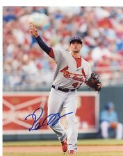 PETE  KOZMA   ST. LOUIS  CARDINALS     SIGNED AUTOGRAPHED 8X10  PHOTO  THROWING