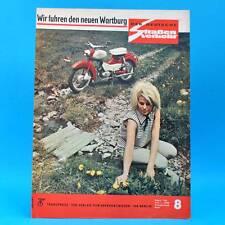Der Deutsche Straßenverkehr 8/1966 Wartburg 353 Harz Simson MZ Cross Rallye F