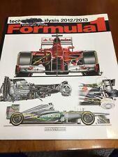 Formula 1 : Technical Analysis 2012/2013 by Giorgio Piola (2013, Paperback)