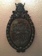Disney Parks HAUNTED MANSION Sign Disneyland WDW Attraction Prop