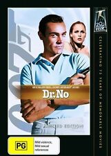 Dr No (DVD, 2010) Region 4 DVD Used VGC Sean Connery, Ursula Andress   Free Post