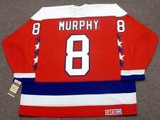 e207351d8 LARRY MURPHY Washington Capitals 1988 CCM Vintage Throwback NHL Hockey  Jersey