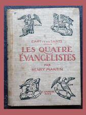 H Martin LES 4 ÉVANGÉLISTES L'art et les Saints LAURENS
