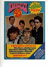 DISCO 45 - SONGBOOK MAGAZINE - MARTHA AND THE MUFFINS - THE JAM   #115