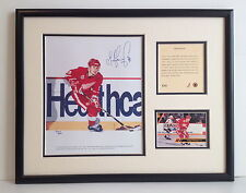 SERGEI FEDOROV DETROIT RED WINGS NHL FRAMED ART & PHOTOGRAPH