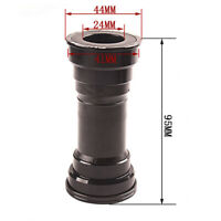 Press in Bicycle Center Axis Mountain bike Type Hollow Inner 24mm Aluminum alloy