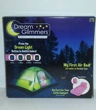 Pink Dream Glimmers Inflatable Bed Air Mattress Kid's Sleepover Camping