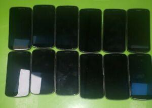 LOT 12x Samsung Galaxy Nexus (SCH-i515) 8GB - Gray (Verizon) NO POWER For Parts