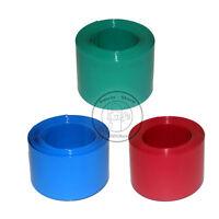 Flat Width 110MM, Round diameter 70MM PVC Heat Shrink Tubing Wrap (4 Color)