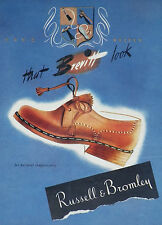 Russell & Bromley Brevitt Loafers 1948 Shoe Advertisement Ad Print 8376