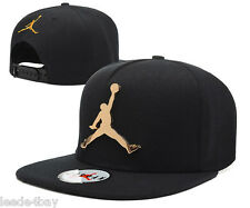Fashion Hip-Hop adjustable bboy Baseball Cap JORDAN Snapback Hats BLACk Summer