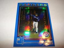2004 Topps Chrome Traded Blue Refractor #T13 BRIAN JORDAN 1/1 Texas Rangers