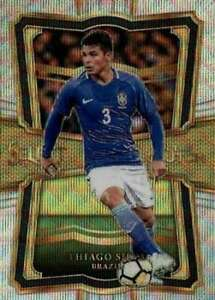2017-18 Panini Select In the Clutch #30 Thiago Silva ID:333
