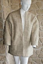 Manteau clair avec laine neuf taille S/M marque Terry Lane étiqueté à 129€ (sg)