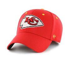 Kansas City Chiefs hat cap nwt new '47 Brand stretch fit S/M red logo NFL