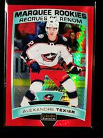 Alexandre Texier /199 19-20 UD O-Pee-Chee Platinum Red Prism Marquee Rookie 188