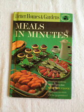Better Homes & Gardens Meals in Minutes 1963 Hardback