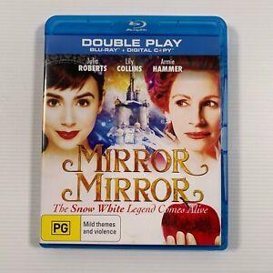 Mirror Mirror (Blu-ray 2012) Julia Roberts Lily Collins Sean Bean Region B