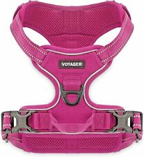 New listing Voyager Dual Attachment Outdoor Dog Harness - Large - Fuchsia - No Pull - Nwt
