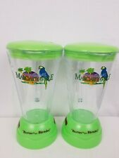 New listing 2 Jimmy Buffett Margaritaville Mixer Cup Booze In The Blender Collectible Bar f1