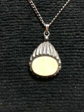 """Vintage Pewter Pendant With 18"""" Chain"""